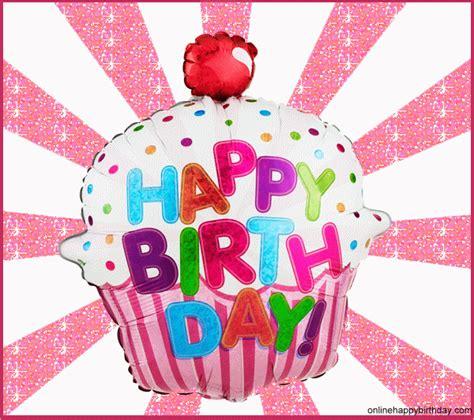 happy birthday cupcake glitter   pinterest