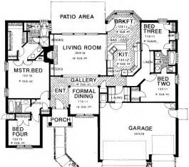 what is the standard height for kitchen cabinets house plan 4 beds 3 00 baths 2233 sq ft plan 310 144 2233
