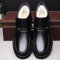 Nib Men Western Cowboy Boots Slip Winter Shoes Ankle