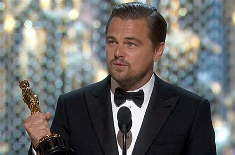 DiCaprio Wins Oscar, Uses His Speech to Talk Climate ...