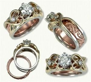 wedding band inside engagement ring engagement ring usa With wedding band inside engagement ring