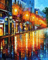 Paris Scenery French Wall Art Paintings On Ca…