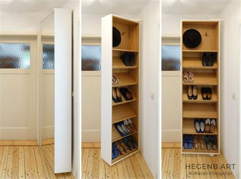 miroir dans chambre hegenbart meuble à chaussures pivotant