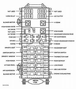 1999 Ford Ranger Relay Diagram