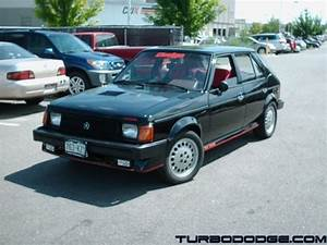 MoPower86GLH 1986 Dodge Omni America Specs, Photos