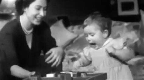 Vintage Home Video Shows The Queen Playing With Prince
