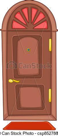 Illustrations Vectorisées de maison porte dessin animé dessin animé maison