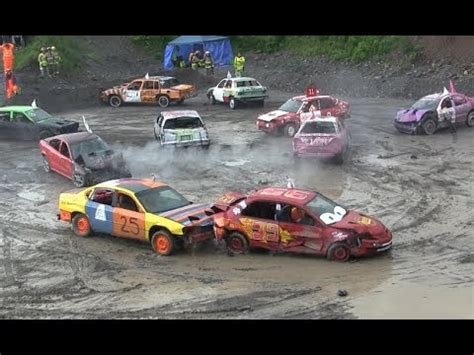 2017 Demolition Derby  Smash Up For Ms  Small Car Heat