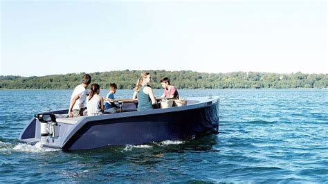 Electric Pleasure Boat by Lightweight Electric Motorboats Motorboat