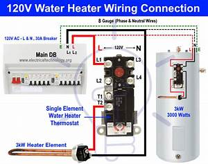 How To Wire A Electric Hot Water Heater