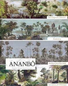 Papier Peint Ananbo : papier peint panoramique plus deco pinterest papier peint papier peint panoramique et ~ Melissatoandfro.com Idées de Décoration