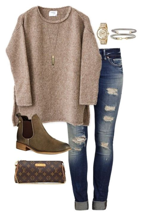 U0026quot;cold rainy dayu0026quot; by daniellekenz on Polyvore featuring Mavi Steve Madden David Yurman Marc by ...