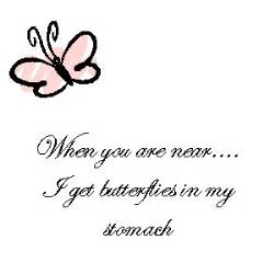 Butterflies In My Stomach Love Quotes