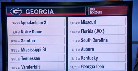 sec football schedule released   team