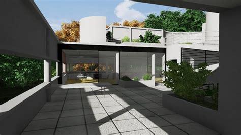 redesigning villa savoye   bim software part  biblus
