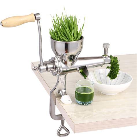manual juicer wheat grass hand stainless press steel juice fruit orange squeezer slow machine citrus auger wheatgrass vegetable lemon extractor