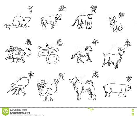 animals   chinese zodiac calendar  symbols