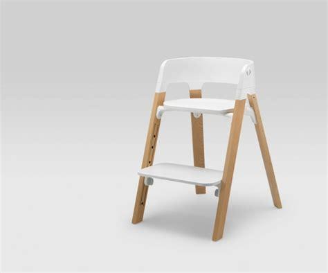 chaise pour enfants stokke steps par permafrost la chaise bébé polyvalente