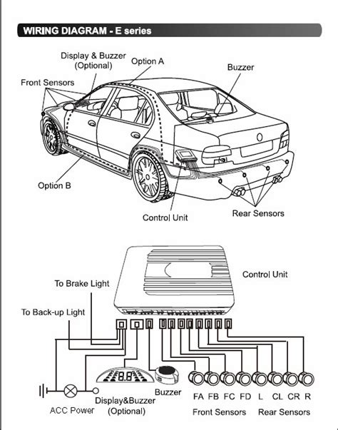 wiring diagram for rear parking sensors 39 wiring