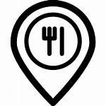 Icon Restaurant Restaurante Iconos Icons Svg Parques