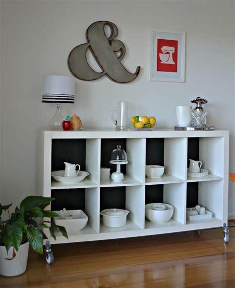 pied bar cuisine étagère kallax ikea 69 idées originales de l 39 utiliser