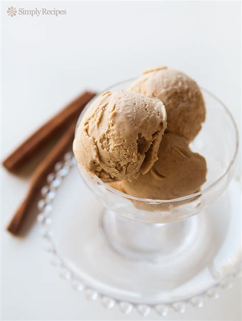 cinnamon ice cream recipe simplyrecipescom
