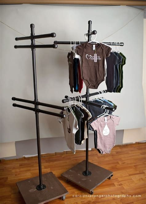 rolling vendor fair clothing display perfect for small