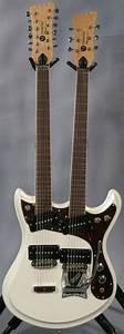 U0026quot Mosrite Double Neck Guitar  Ed Roman Guitars