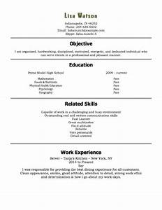 resume examples for teenager resume and cover letter With free resume builder for teens