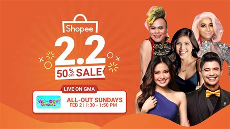 The Shopee 2.2 50% Off Sale features amazing deals and ...