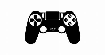 Ps4 Controller Vector Clipart Playstation Xbox Controllers