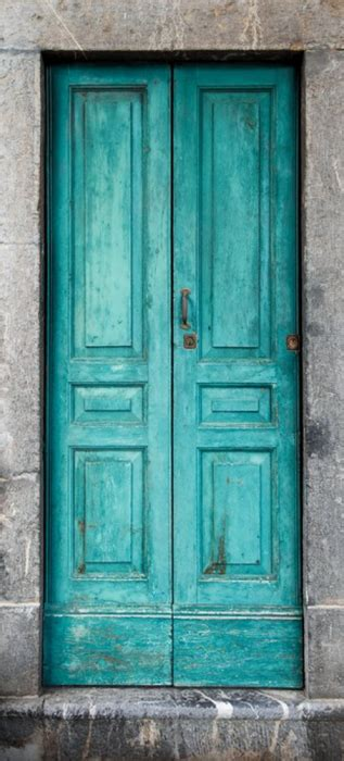 sticker vieille porte verte refsp mpa deco