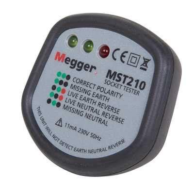 Megger Socket Polarity Tester Mst Cef