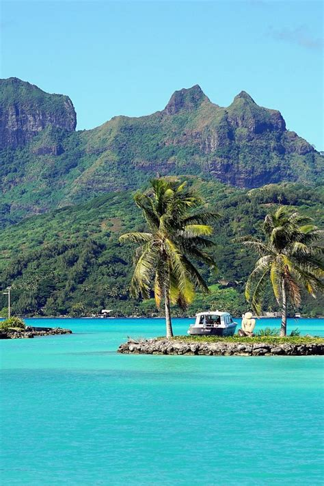 Bora Bora Postcards From Paradise Posts French And Tahiti