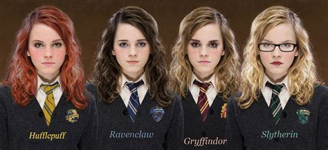 hamani granger harry potter what if hermione was sorted in a different house banana