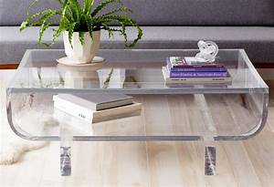 best 25 acrylic coffee tables ideas on pinterest coffee With used acrylic coffee table