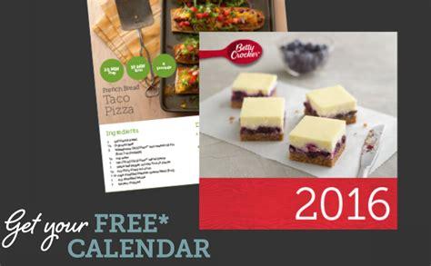 betty crocker calendar limited quantities days