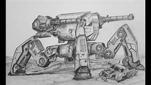 How to Draw Raijin (War Robots) - YouTube