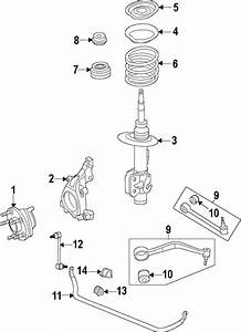 Oem 2010 Chevrolet Camaro Front Suspension Parts