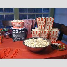 Movie Party Ideas For Birthday Party