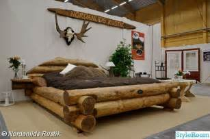 Cool Log Bed Frame