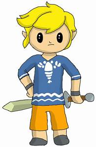 Toon Link in Pajamas by ThePiDay on DeviantArt