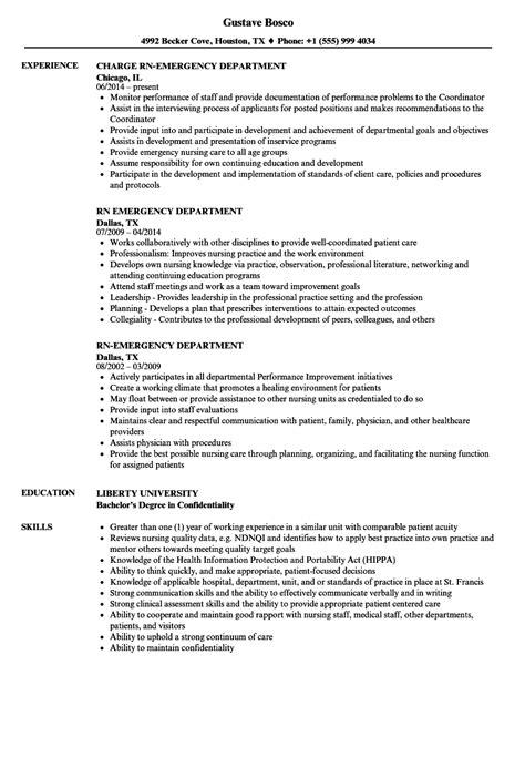 Diagnostic Sonographer Resume by Rn Emergency Department Resume Sles Velvet