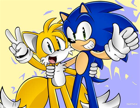 Sonic And Tails By Sonicschilidog On Deviantart