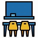 Classroom Icon Icons Education