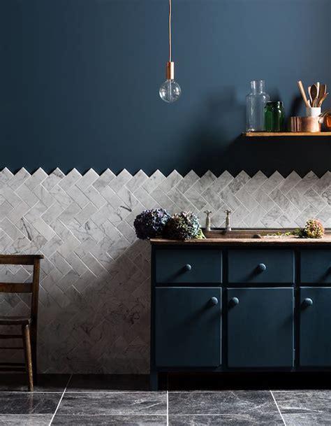 peinture murs cuisine peinture murale 20 inspirations pour un intérieur trendy