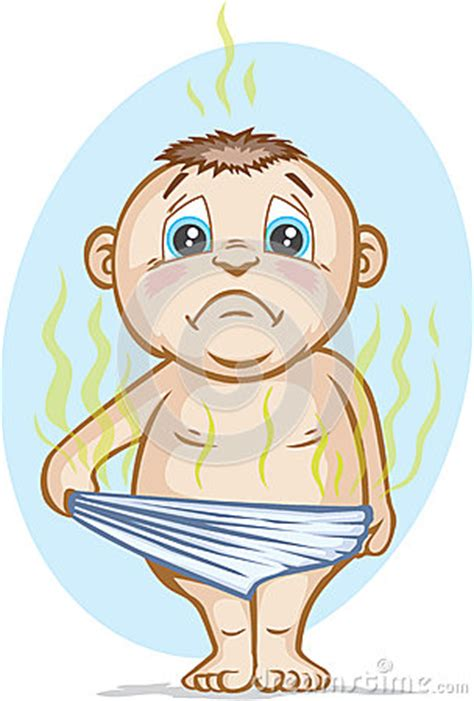smelly diaper royalty  stock images image