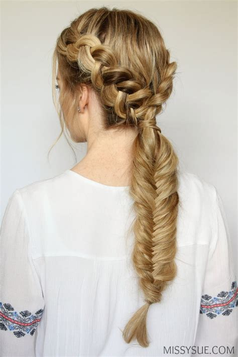 double dutch fishtail braid missy sue
