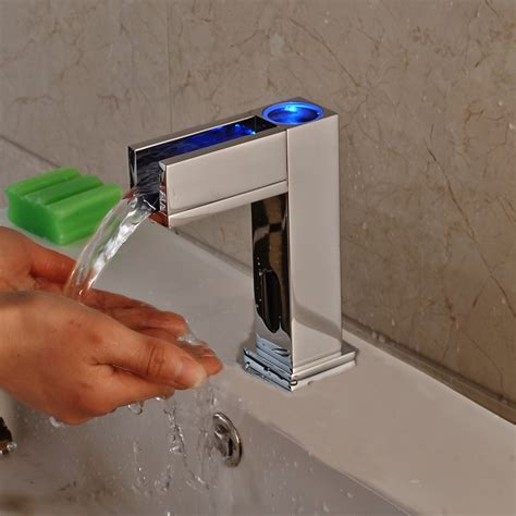 hands  bath faucets touchless bathroom sink faucets