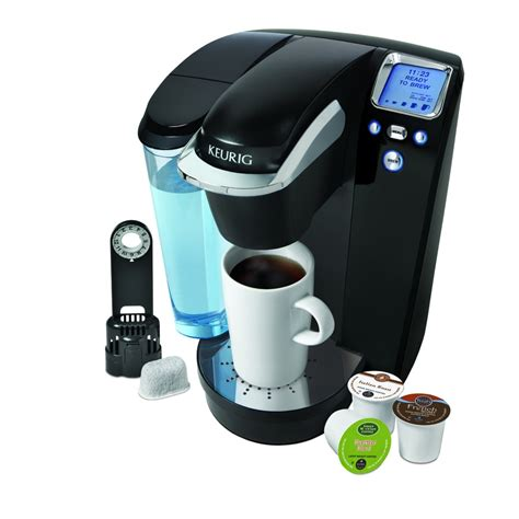 This is ideal for the single person who doesn't need to brew a full pot of coffee every morning. Keurig Black Programmable Single-Serve Coffee Maker at Lowes.com